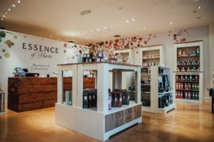 Glasgow Store Interior Design for Essence of Harri