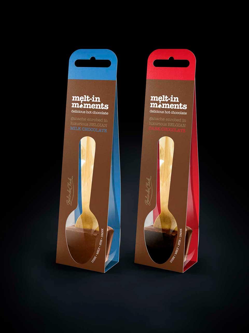 Melt-in-moments packaging for Belinda Clark