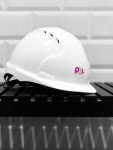 Helmet Branded with PML Identity