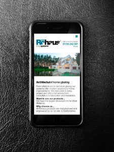 Mobile Website Design for Rohaus