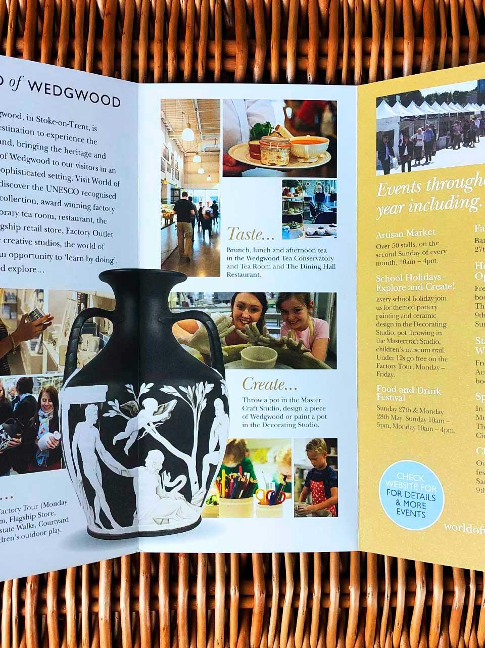 Activity Leaflet for World of Wedgwood