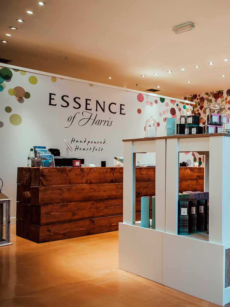 Interior Design Glasgow Store for Essence of Harris