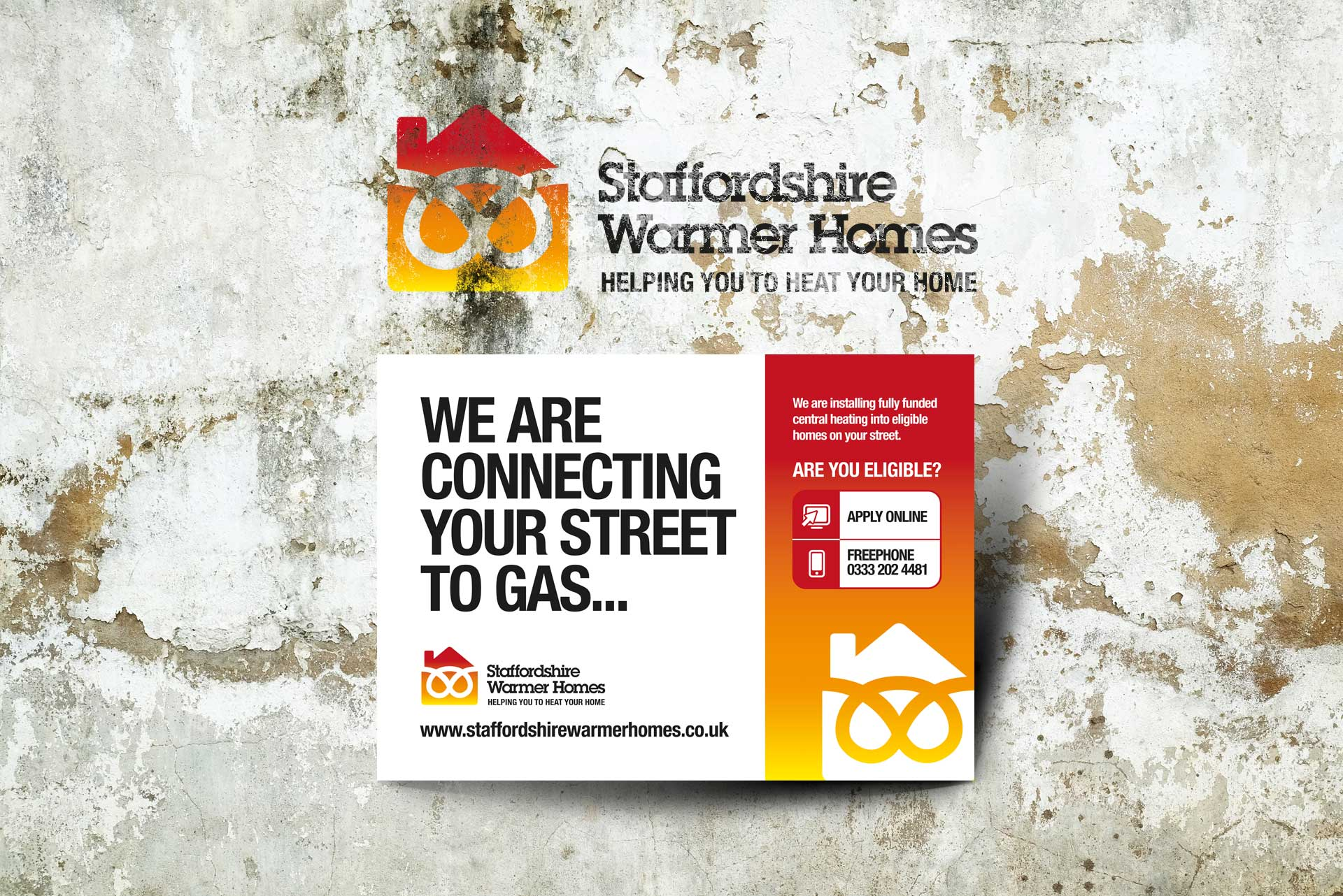 Warmer Homes Initiative for Staffordshire County Council