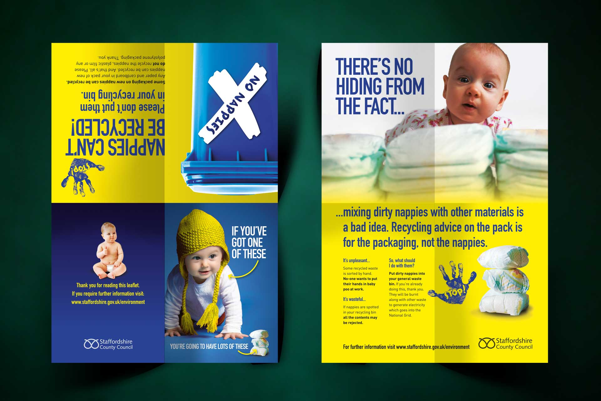 Nappies Campaign for Staffordshire County Council